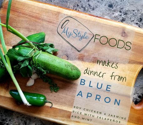 My Thoughts on Blue Apron's Soy Chicken