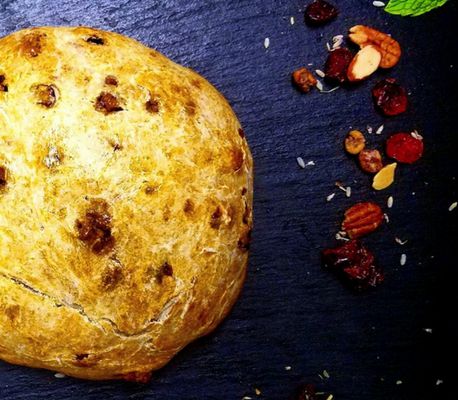 Bring on the Baking: Cranberry Lavender Nut Bread