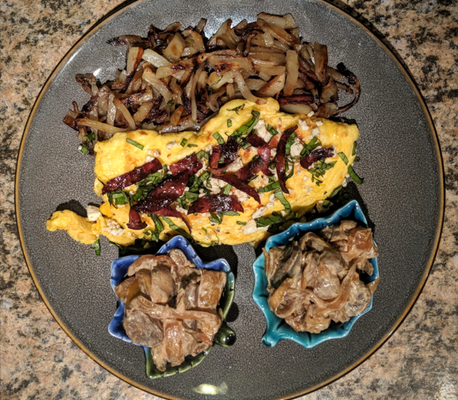 MyStyle Food's Cheese Omelette Recipe