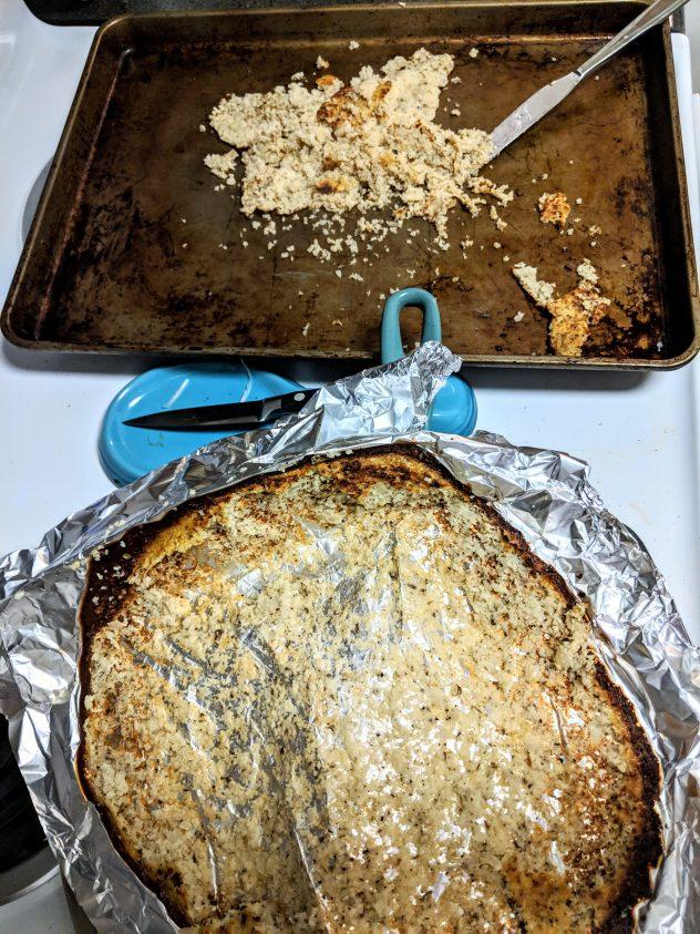 MyStyle Foods cauliflower flatbread